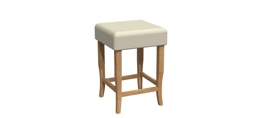 Fixed stool - BE018B-1200