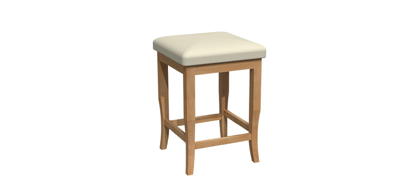 Fixed stool - BE018B-1202