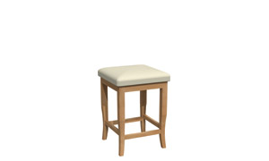 Fixed stool BE018B-1202